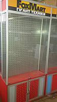 Витрина торговая бу (перфорированная стенка), фото 1