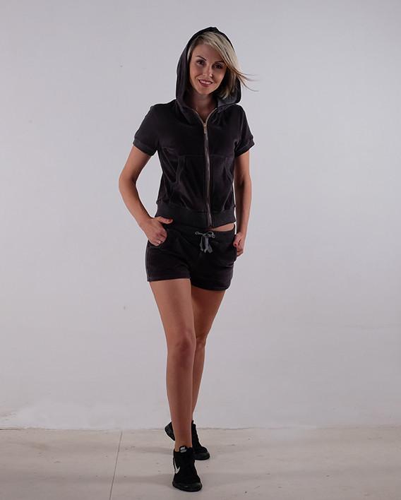 Женский летний спортивный костюм велюр размер 40-44