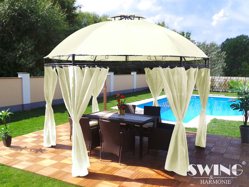 Круглый садовый шатер 3,5м