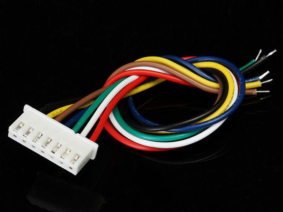 Разъем XH2.54 7pin с проводами 30 см