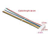 Разъем XH2.54 7pin с проводами 30 см, фото 3