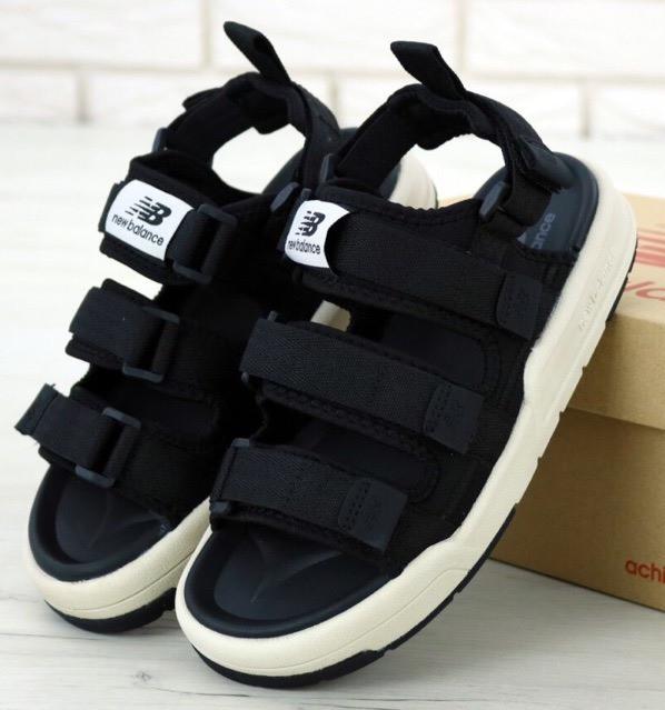Мужские Сандалии New Balance Sandals Black