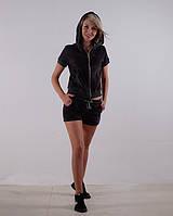 Женский летний спортивный костюм велюр размер 40-44 XS