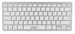 Беспроводная Bluetooth клавиатура UKC BK3001 (X5) Silver