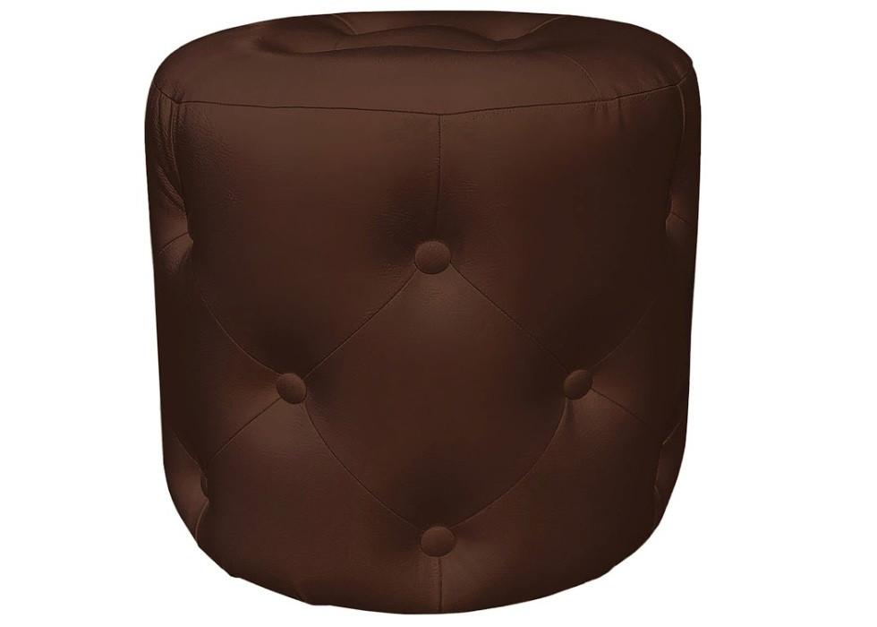 Пуф Катрин шоколадный Rich