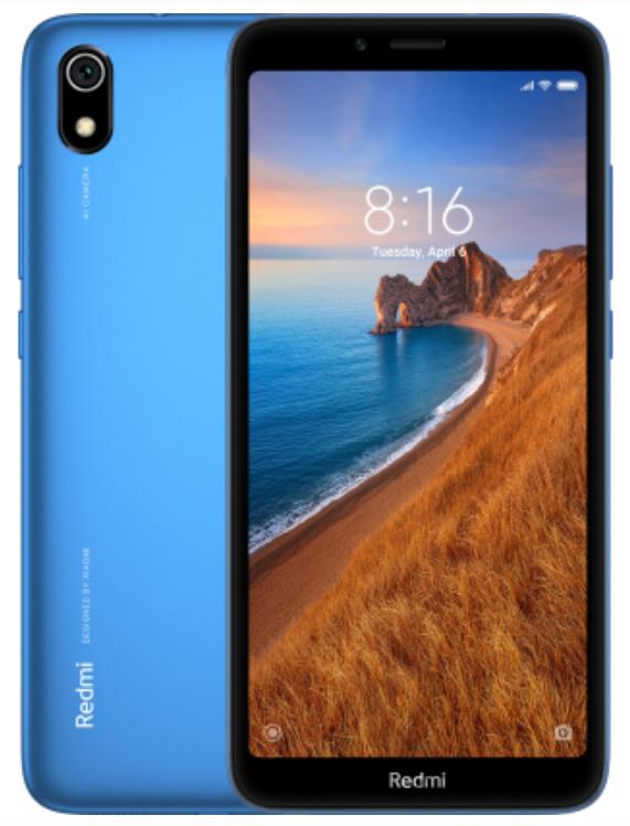 "Xiaomi Redmi 7A Matte Blue 2/16 Gb, 5.45"", Snapdragon 439, 3G, 4G (Global)"