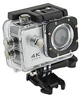 Водонепроницаемая спортивная экшн камера DVR SPORT S2 Wi Fi Silver