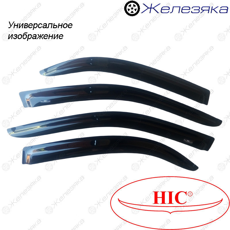 Ветровики Toyota Hilux 2004-2015 (HIC)