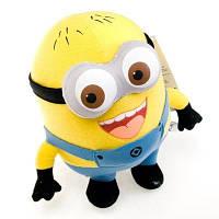 Мягкая плюшевая игрушка Миньйон (Миньон) 23 см (Дейв, Стюарт или Джордж), фото 1