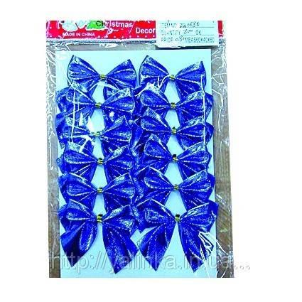 Бант мал синий  12шт , фото 2