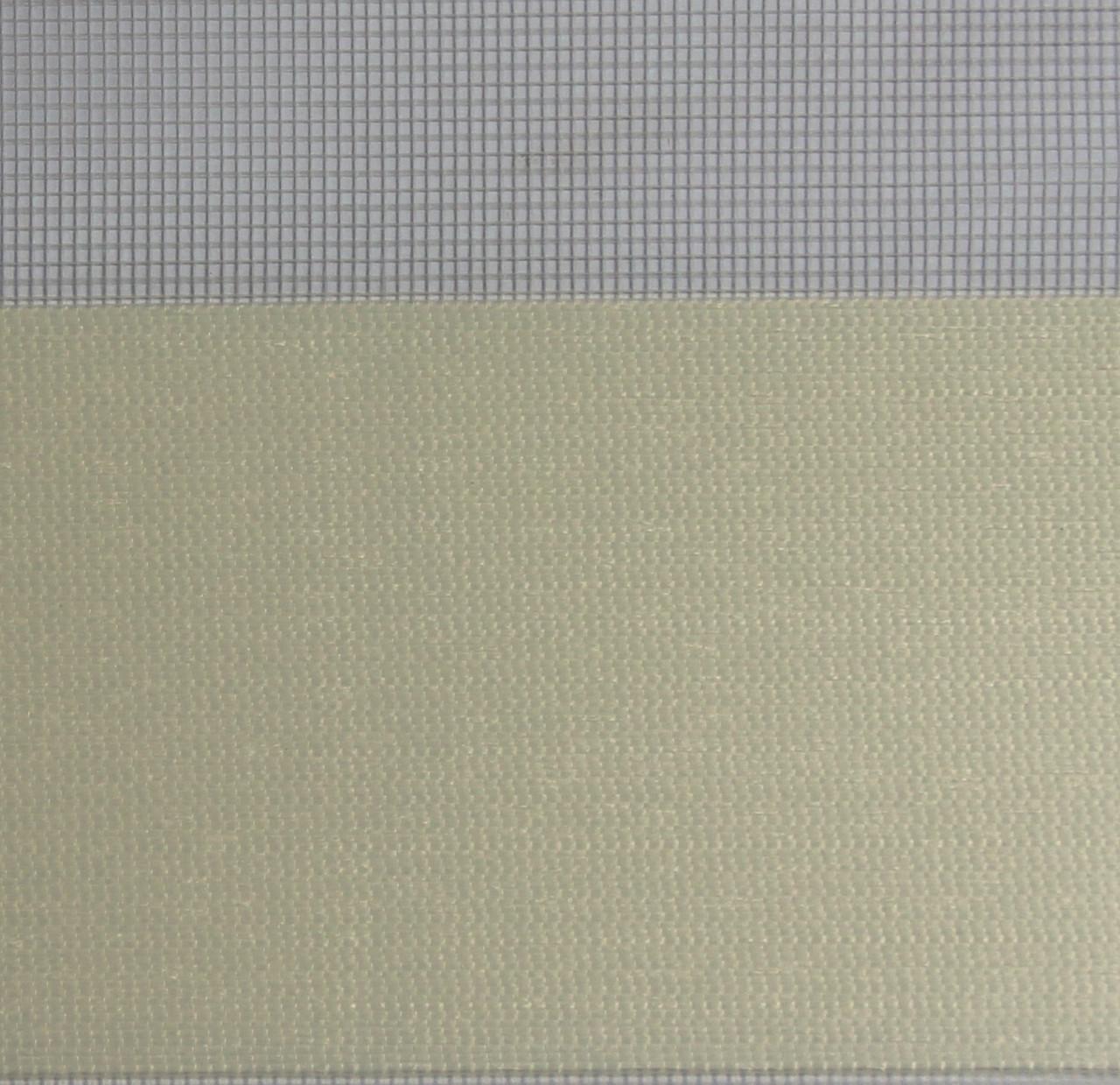 Рулонні штори День-Ніч Тканина Ріо Z-078 Кремовий