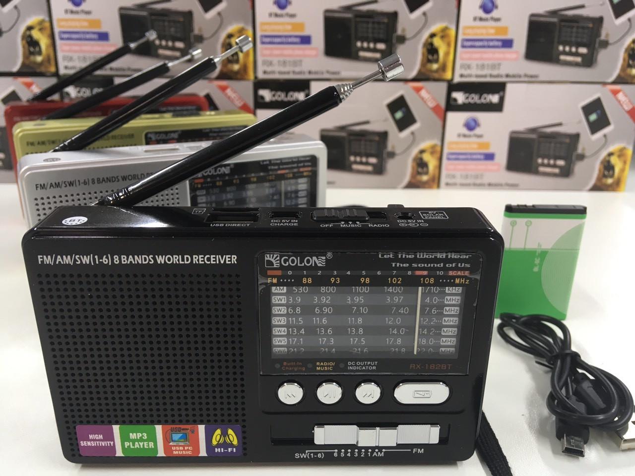 Радиоприемники-GOLON RX-182BT (100 шт/ящ)