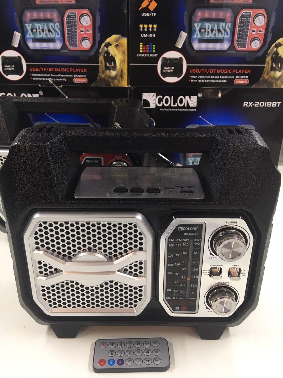 Радиоприемники-GOLON RX-2019 (12 шт/ящ)