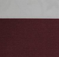 Рулонные шторы День-Ночь Ткань Рио Z-081 Тёмно-алый