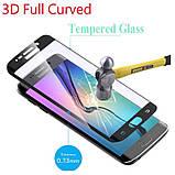 Защитное стекло 3D Samsung S 10  (изогнутое) черное, фото 4