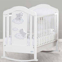 Детская кроватка Baby Italia Coccolo White/Dove Grey