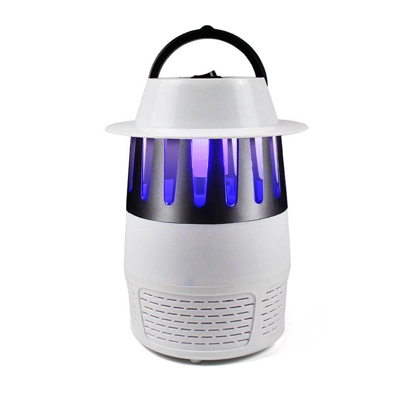 Знищувач комарів і комах SUNROZ Mosquito Killer Lamp лампа-пастка Білий (SUN4918)