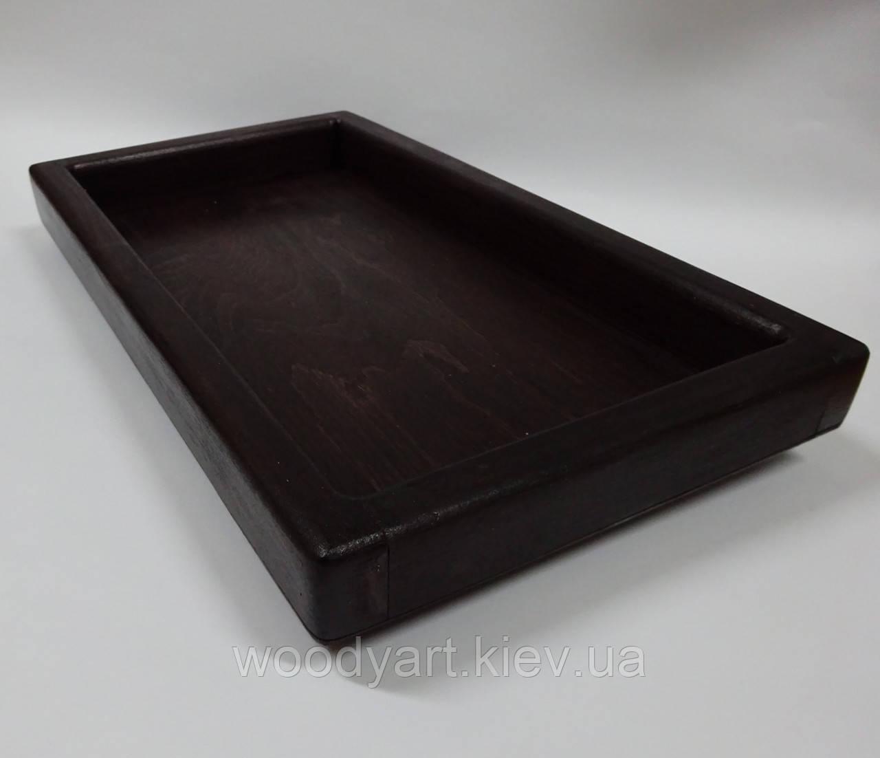 Поднос прямоугольный 35 * 25 см.