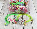 Детские резиночки для волос Единороги цветные 24 шт/уп., фото 3