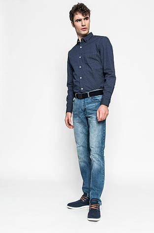 Рубашка мужская темно-синяя Medicine M, фото 2