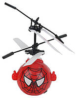 Летающий мяч шар Mini Flyer Heros Spider Man