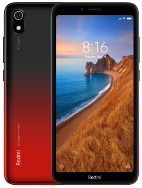 """Xiaomi Redmi 7A Gem Red 2/16 Gb, 5.45"""", Snapdragon 439, 3G, 4G (Global)"""