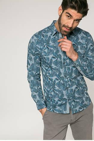 Рубашка мужская слим из узорной ткани Medicine, фото 2