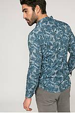 Рубашка мужская слим из узорной ткани Medicine, фото 3