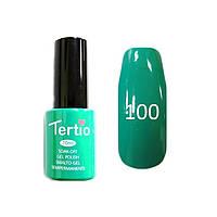 Гель-лак Tertio 100 (мятно-зеленый нежный),10 мл