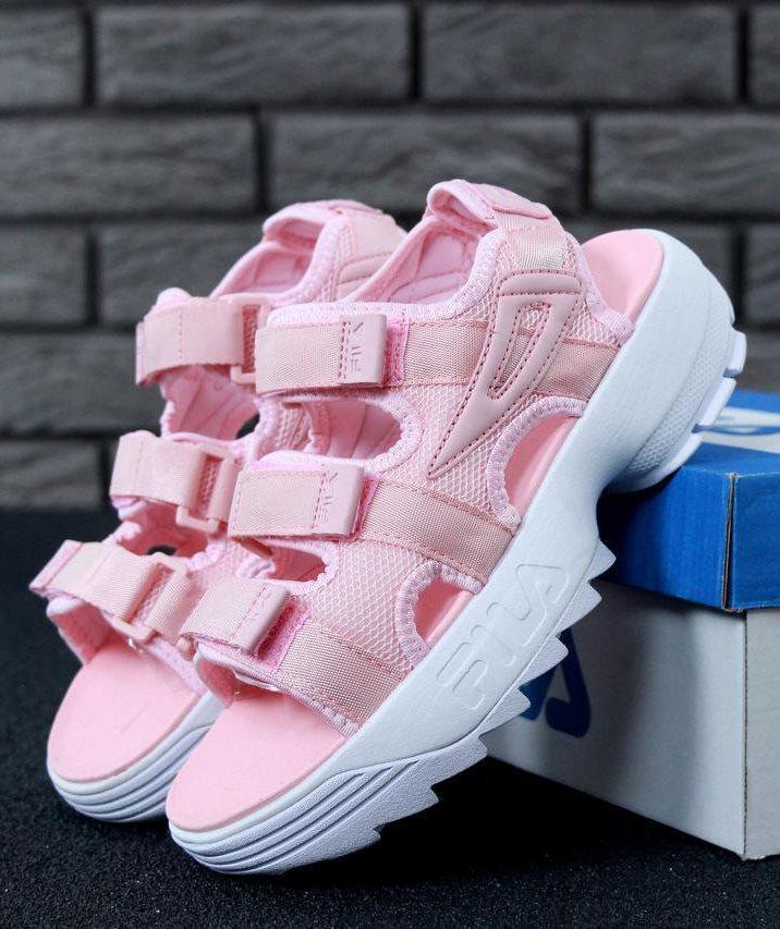 Женские Сандалии FILA Disruptor Sandals Pink