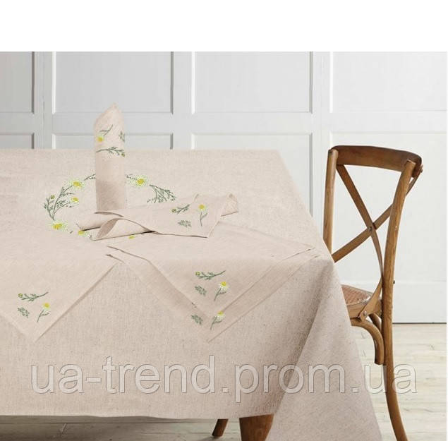 Скатерть на кухонный стол + салфетки 150x175