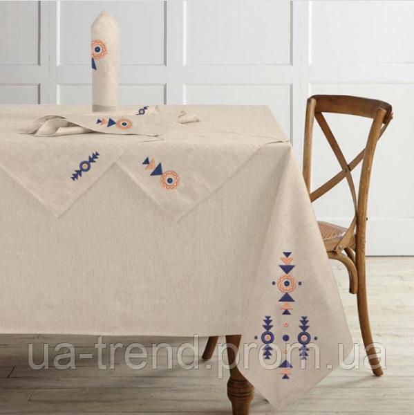 Скатерть на кухонный стол + салфетки 150x225