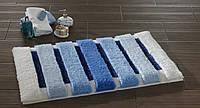 Коврик для ванной Confetti - Selinus голубой 60х100
