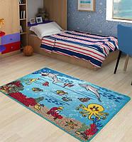 Ковер в детскую комнату Confetti - Underwater аква 100х150