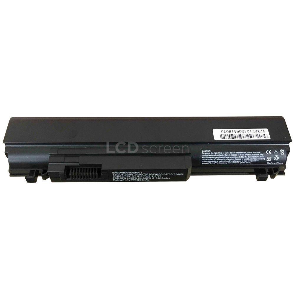 Аккумулятор для ноутбука Dell T561C XPS 1340 11.1V черный 5200 mAh