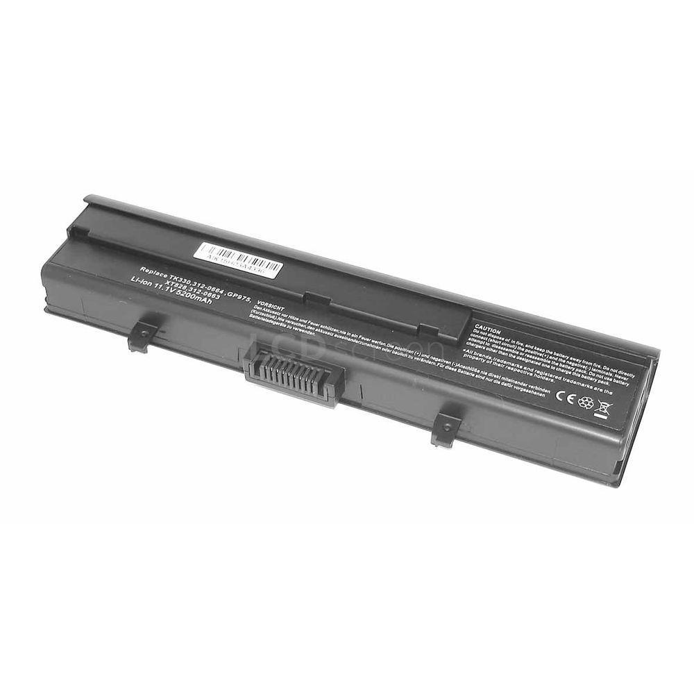 Аккумулятор для ноутбука Dell TK330 XPS M1530 11.1V черный 5200 mAh