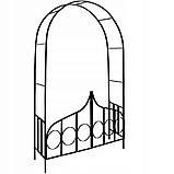 Металева арка для рослин, фото 4