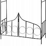 Металева арка для рослин, фото 5