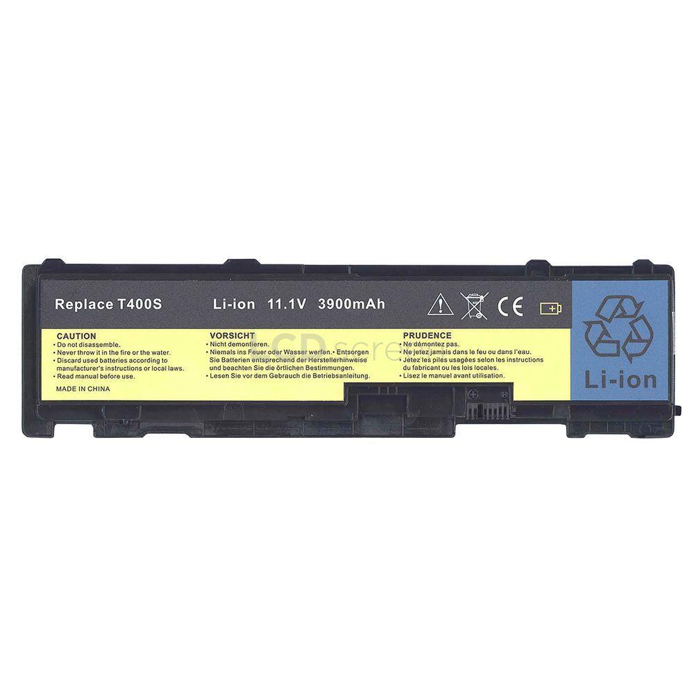 Аккумулятор для ноутбука Lenovo-IBM 42T4833 ThinkPad T410s 10.8V черный 3900 mAh