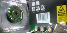 Указатель лазерный для дисковых пил Hitachi 750461