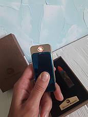 Зажигалка с вечной спичкой - 2-х режимная USB и бензиновая, фото 2