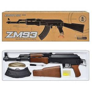 Автомат детский ZM 93, иммитация автомата Калашникова+очки + ремень