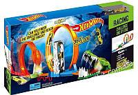 Большой гоночный трек Hot Wheel Атака Крокодила и Кобры с мертвыми петлями Хот Вилс