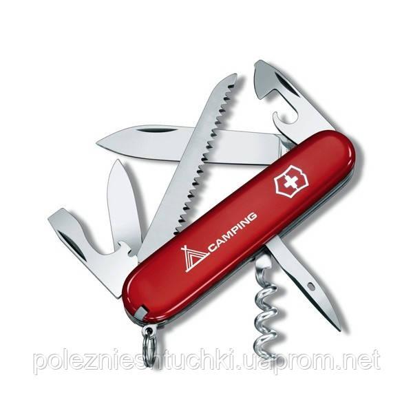 "Нож ""Victorinox"" Camper 91Мм/13Предм/Красн.Лого"
