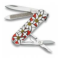 """Нож """"Victorinox"""" Classic 58Мм/7Предм/Edelweiss"""