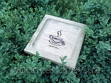 Монетница деревянная №1