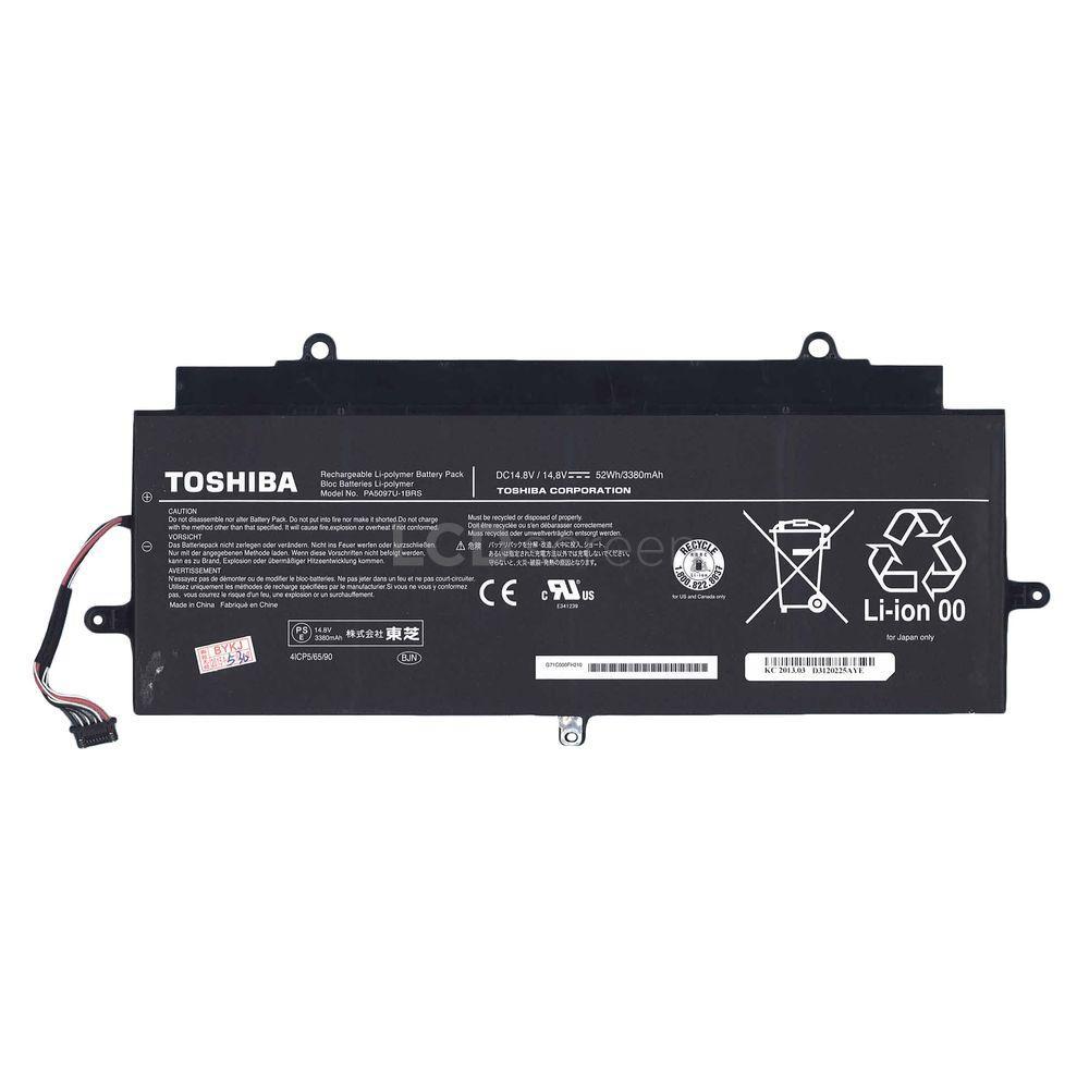 ОРИГИНАЛЬНЫЙ! Аккумулятор для ноутбука Toshiba PA5097U-1BRS 14.8V черный 3380 mAh 52Wh