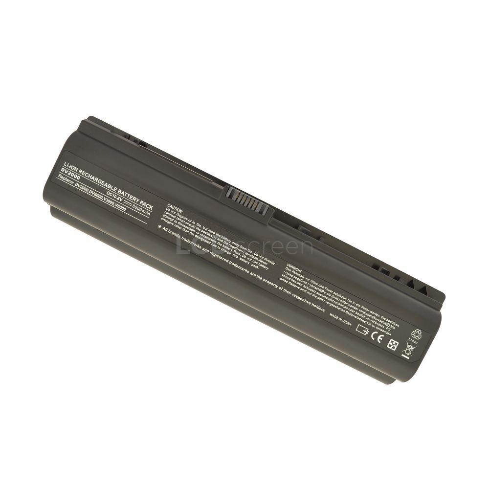 УСИЛЕННЫЙ! аккумулятор для ноутбука HP Compaq EV089AA Pavilion DV6000 11.1V черный 8800 mAh