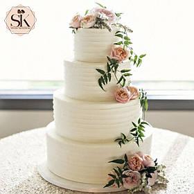 Свадебный торт. Торт свадебный кремовый