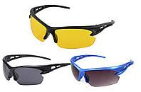 Спортивные солнцезащитные очки с защитой от ультрафиолета 3105 (для велосепелистов, водителей, охоты, рыбалки)